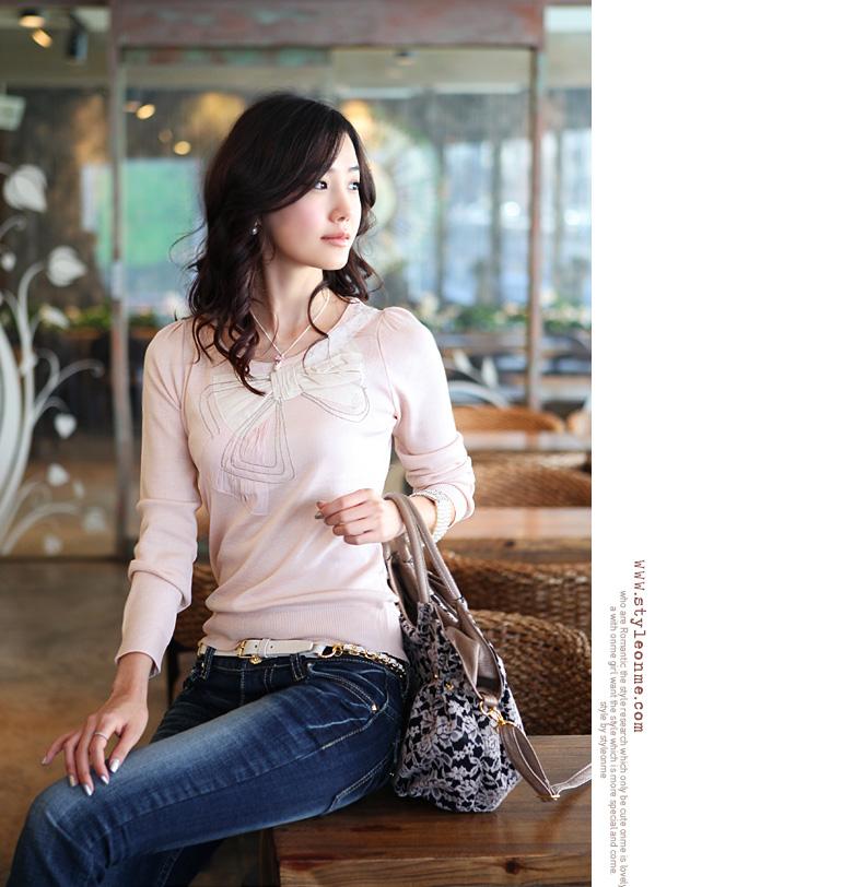 韩国代购正品2011新款夏装时尚淑女版微喇叭牛仔裤