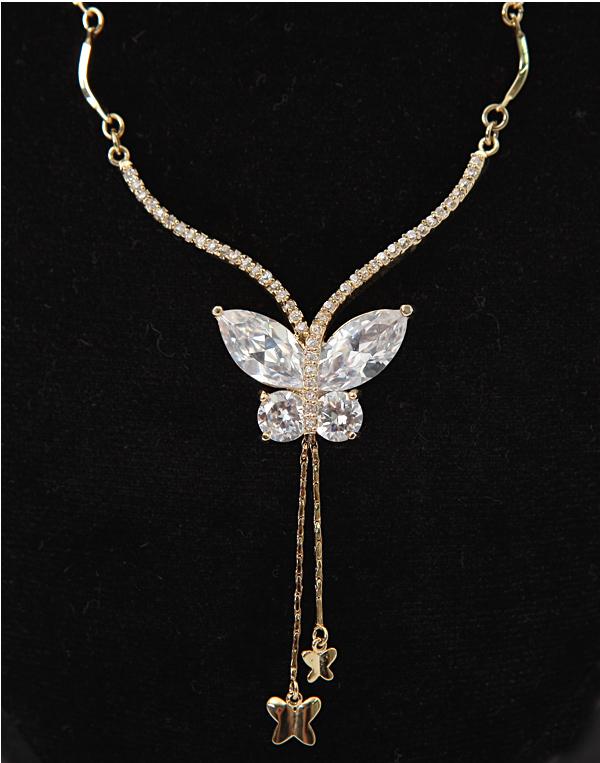 韩国正品代购女士2011新款秋装时尚淑女版砖石蝴蝶