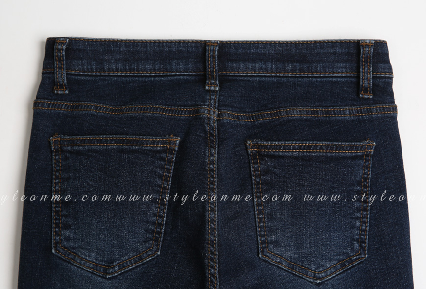 Quần Jean Nữ Lót Nỉ Thời Trang Hàn Quốc - QJ2638