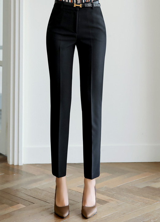Perfect Slim Line Straight Leg Slacks, 스타일온미