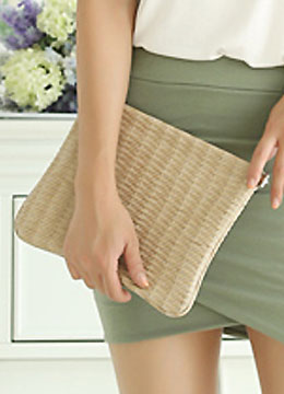 Organic Summer Clutch Bag, Styleonme