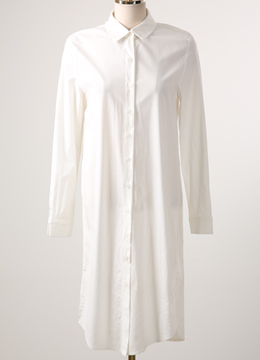 White Long Blouse Shirt, Styleonme