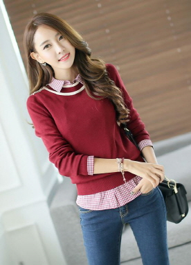 Shoulder Knot Detailed Knit Top, Styleonme