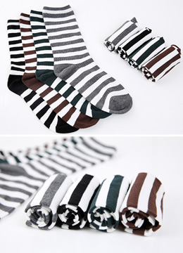 Stripe Socks, Styleonme