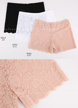 Lace Inner Shorts, Styleonme