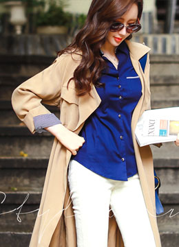 Long Trench Coat, Styleonme