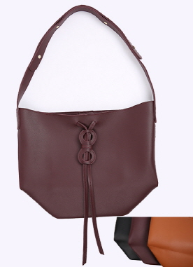 Drawstring Bucket Shoulder Bag, Styleonme