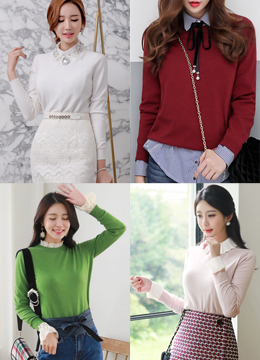 Dailywear Round Neck Knit Top, Styleonme