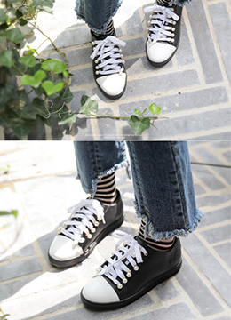 Pearl Accent Sneakers, Styleonme
