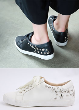 Star Studded Sneakers, Styleonme