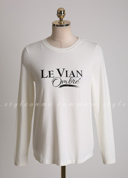 Lettering Print Soft Round Neck T-shirt, Styleonme