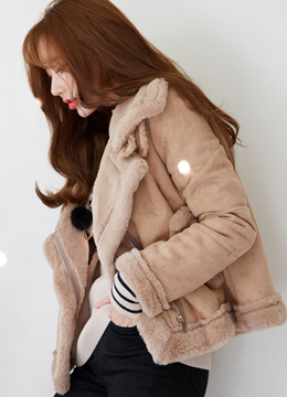 Soft Belted Mustang Jacket, Styleonme