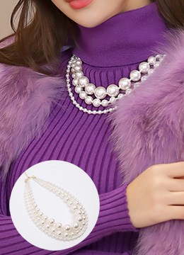 Luxury Pearl Necklace, Styleonme
