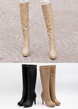 Knee High Long Boots, Styleonme