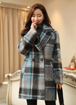 Boxy Fit Wide Collar Quilted Coat, Styleonme