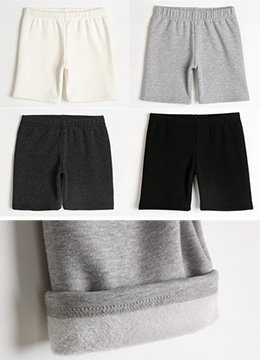 Soft Fleece-lined Inner Shorts, Styleonme