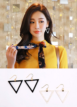 Triangle Drop Earrings, Styleonme