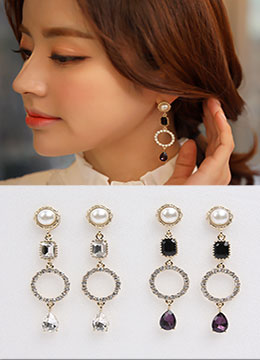 Luxurious Sapphire Earrings, Styleonme