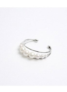 Pearl Accent Bangle, Styleonme