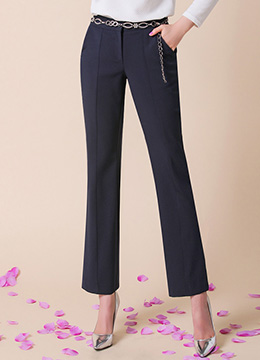 Perfect Fit Semi-Boot Cut Slacks, Styleonme