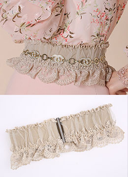 Luxury Lace Elastic Belt, Styleonme