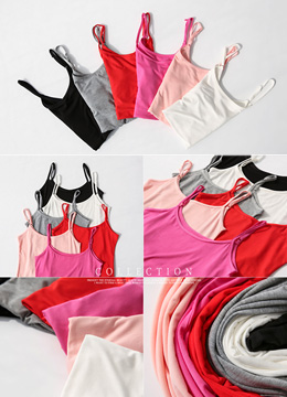 Basic 6Colors Tank Top, Styleonme