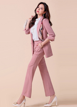 Premium Belted Tailored Jacket, Styleonme
