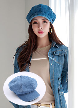 Blue Denim Cap, Styleonme