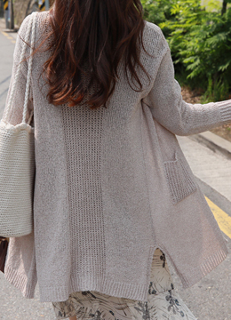 Loose Fit Summer Long Cardigan, Styleonme
