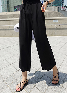 Relaxed Wide Leg Pants, Styleonme