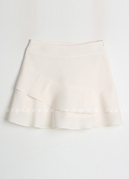 Two Tier Mini Skort, Styleonme