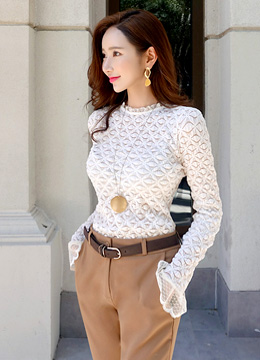 Sheer Full Lace T-shirt, Styleonme