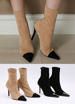 Swede Pointy Toe Bootie, Styleonme