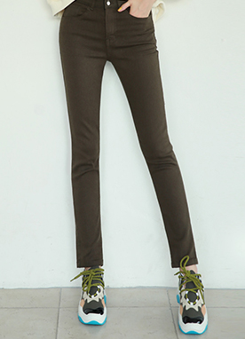 Dailywear Skinny Cotton Pants, Styleonme