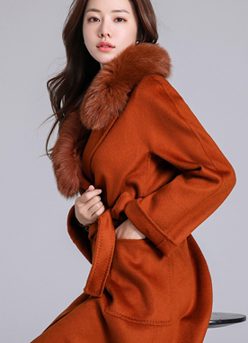 Premium Wool Cashmere Blend Luxury Stitch Coat, Styleonme