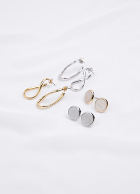 Stylish 2set Earrings, Styleonme