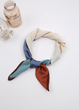 Color Block Scarf, Styleonme