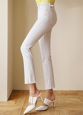 Dailywear Slim Fit Straight Leg Pants, Styleonme