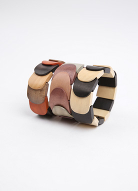 Wood Bangle, Styleonme