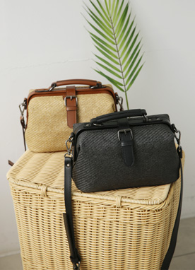 Rattan Mini Travel Bag, Styleonme