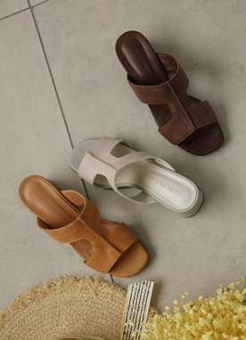 Soft Leather Mules, Styleonme