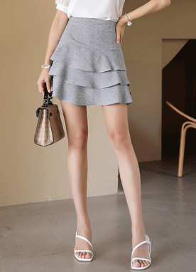 Three Tier Skort, Styleonme
