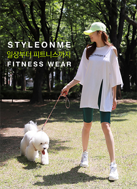 Cold Shoulder Front Slit Boxy T-Shirt, Styleonme