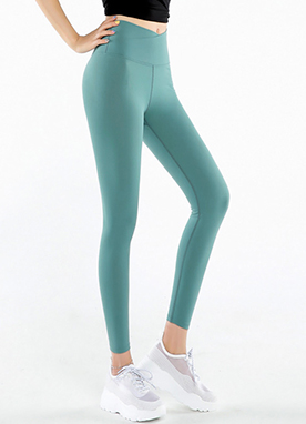 Perfect Fit Lycra Wrap Waistband Leggings, Styleonme