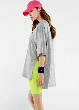 AMERICANS Short Sleeve Boxy Tee, Styleonme