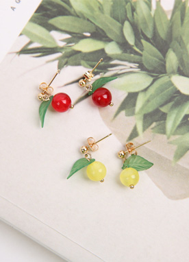 Mini Cherry Earrings, Styleonme