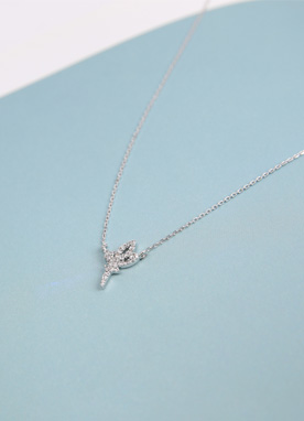 Silver Tinkerbell Necklace, Styleonme
