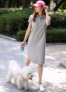 Polo Shirt Dress, Styleonme
