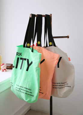 Neon Shopping Tote Bag, Styleonme