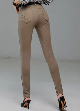 Devil Fit Slim Straight Leg Pants, Styleonme